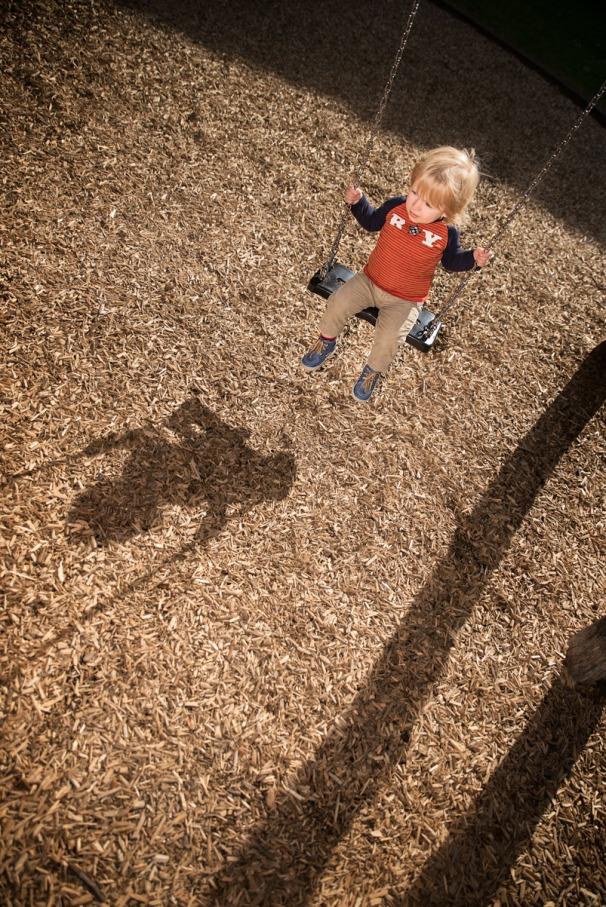 Kinderportret schaduwspel